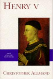 Cover of: Henry V by C. T. Allmand