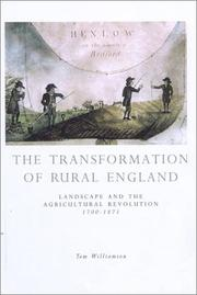 Cover of: The Transformation of Rural England by Tom Williamson