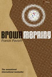 Cover of: Brown morning | Franck Pavloff