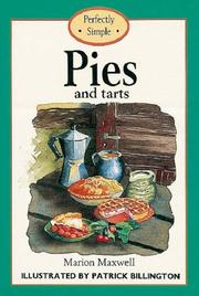 Cover of: Pies and tarts | Marion Maxwell