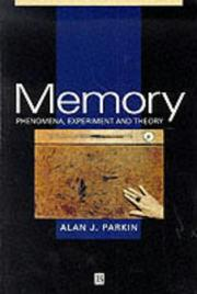 Cover of: Memory by Alan Parkin