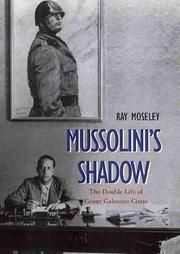 Cover of: Mussolini's shadow | Ray Moseley