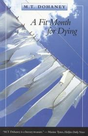 Cover of: A fit month for dying | Myrtis T. Dohaney