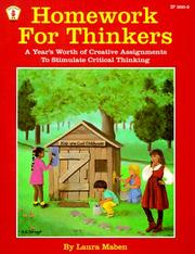 Cover of: Homework for Thinkers | Laura Mabe