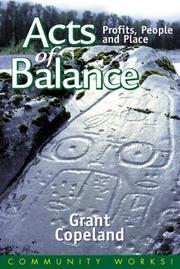 Cover of: Acts of balance | Grant Copeland