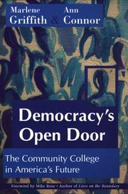 Cover of: Democracy's Open Door by Marlene Griffith
