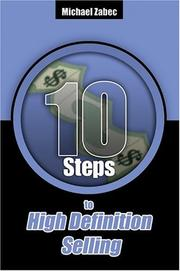 Cover of: Ten Steps to High Definition Selling | Michael Zabec