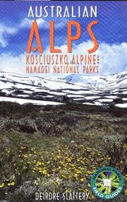 Cover of: The Australian Alps by Deirdre Slattery