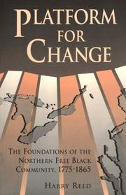 Cover of: Platform for change by Harry A. Reed