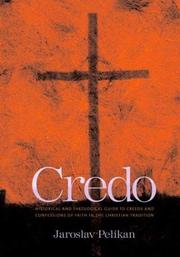 Cover of: Credo | Jaroslav Jan Pelikan