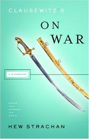Cover of: Clausewitz's on War (Books That Changed the World) by Hew Strachan