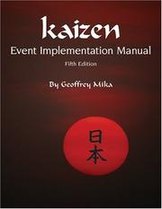 Cover of: Kaizen Event Implementation Manual | Geoffrey Mika