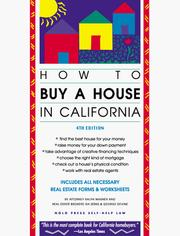 Cover of: How to buy a house in California by Ralph E. Warner