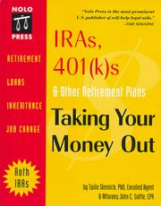 Cover of: IRAs, 401(k)s & other retirement plans by Twila Slesnick
