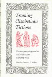 Cover of: Framing Elizabethan Fictions | Constance Caroline Relihan