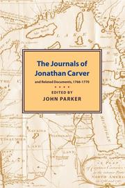 Cover of: Journals of Jonathan Carver | Jonathan Carver