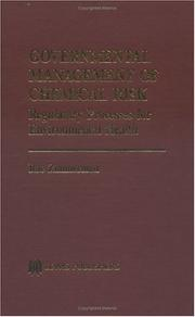 Cover of: Governmental management of chemical risk | Rae Zimmerman