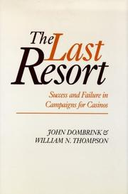 Cover of: The last resort | John Dombrink