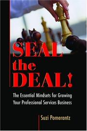 Cover of: Seal the Deal | Suzi Pomerantz / Innovative Leadership International