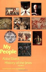 Cover of: My People by David Bamberger