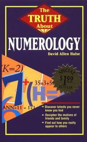 Cover of: Truth About Numerology | David Allen Hulse