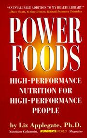 Cover of: Power Foods by Liz Applegate