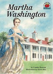 Cover of: Martha Washington (On My Own Biography) | Candice F. Ransom