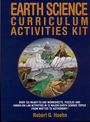 Cover of: Earth science curriculum activities kit by Robert G. Hoehn