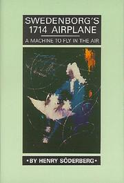 Cover of: Swedenborg's 1714 airplane by Henry Söderberg