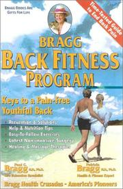 Cover of: Bragg back fitness program | Paul Chappuis Bragg