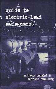Cover of: Guide to electric load management | Anthony J. Pansini