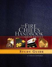 Cover of: The Fire Chief's Handbook | Steven W. Edwards