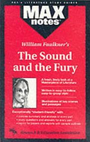 Cover of: William Faulkner's The sound and the fury by Boria Sax
