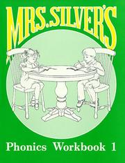 Cover of: Mrs Silvers Phonics by Claudine Silver