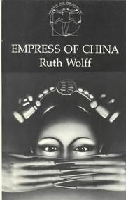 Cover of: Empress of China by Ruth Wolff