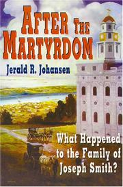 Cover of: After the Martyrdom by Jerald Johansen
