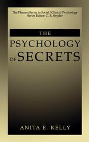 Cover of: The Psychology of Secrets | Anita E. Kelly