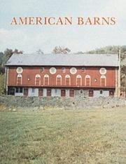Cover of: American Barns by Stanley Schuler
