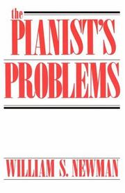 Cover of: The Pianist's Problems | William S., Newman