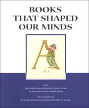 Cover of: Books That Shaped Our Minds by Ronald Hagler