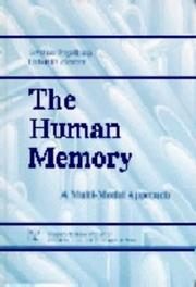 Cover of: Human memory | Johannes Engelkamp