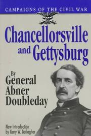 Cover of: Chancellorsville and Gettysburg by Abner Doubleday