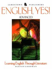 Cover of: English, Yes!: Advanced by Burton Goodman