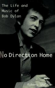 Cover of: No direction home by Shelton, Robert