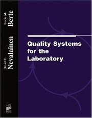 Cover of: Quality systems for the laboratory | Lucia Berte