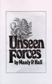 Cover of: Unseen Forces by Manly Palmer Hall