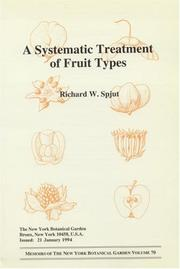 Cover of: A systematic treatment of fruit types | Richard W. Spjut