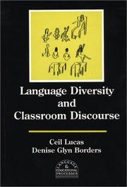 Cover of: Language diversity and classroom discourse by Ceil Lucas