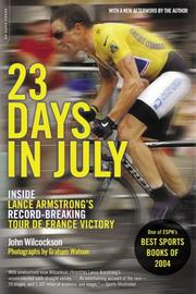Cover of: 23 Days in July | John Wilcockson