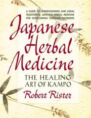 Cover of: Japanese Herbal Medicine by Robert Rister